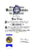 Architect Certificate